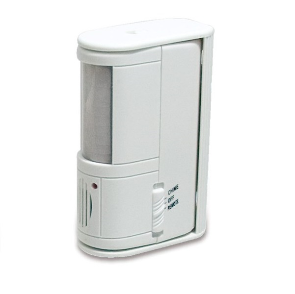 Front Door Alarm Motion Sensor with Stand and Pager Wandering Prevention Multi-Purpose Bed Alarm