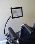Tab Grabber Wheelchair Computer Tablet Holder