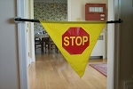 Safe-T-Mate Stop Sign Banner