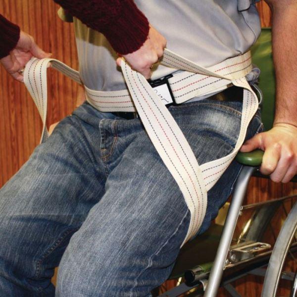 Transfer Sling And Gait Belt :: Combination Belt And Sling