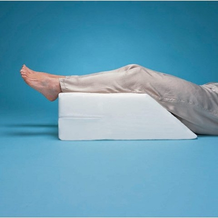 wedge rest foot elevated foam pillow elevating and legrest leg positioning
