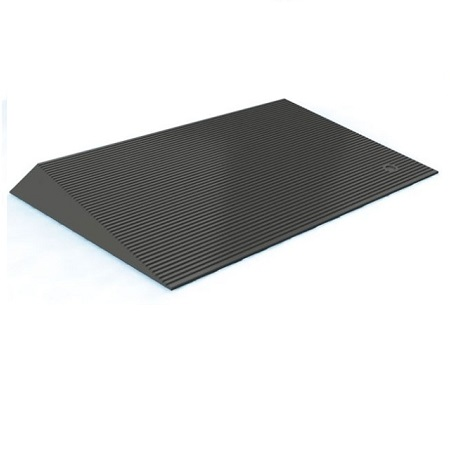 Ez Access 2 1 2 Inch Rubber Threshold Ramp With Beveled