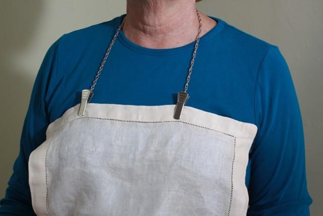 Granny Jo Metal Napkin Clip Bib Clip