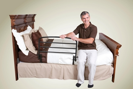 Standers 30 Inch Safety Bed Rail Folding And Hand