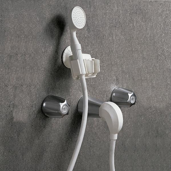 Hand Held Portable Shower :: economy hand sprayer tub spout converter