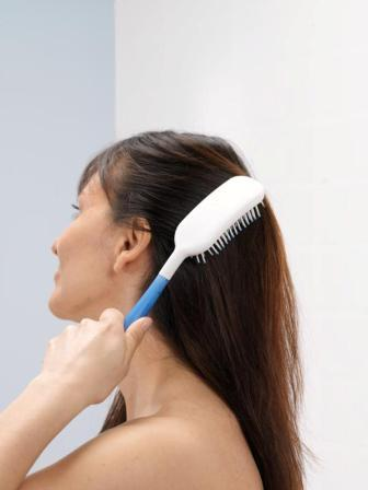 Body Care Long Handle Hair Brushes Have Handles That Extend Users Reach To Comfortably Brush