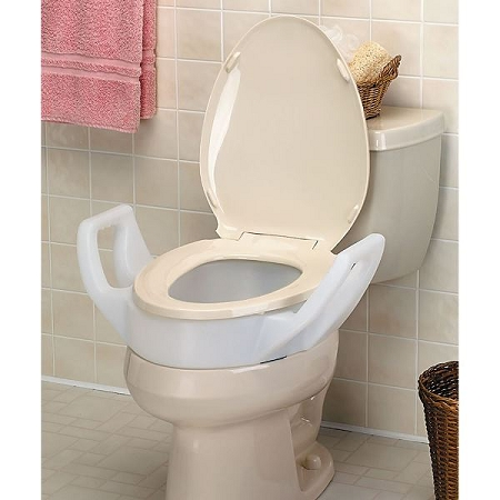 Enjoyable Millennia Raised Toilet Seat With Arms Alphanode Cool Chair Designs And Ideas Alphanodeonline