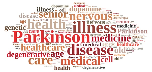 Parkinson Related Words Cloud