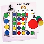 Mind-Start Rainbow Bingo Game