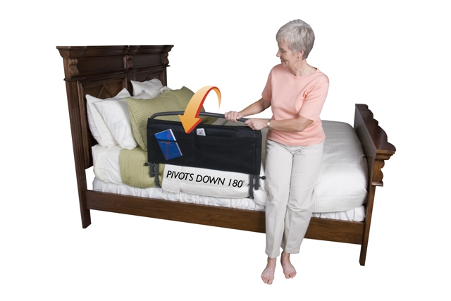 Standers 30 Inch Safety Bed Rail with Padded Pouch