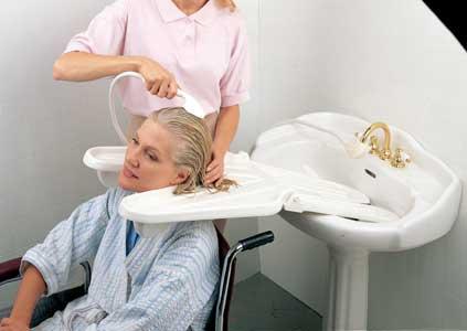 Shampoo Aid Shampoo Tray Hair Washing Tray For Caregivers