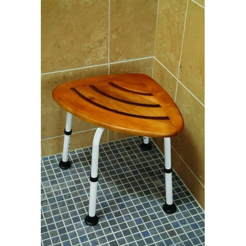 TEAKspa Corner Shower Seat - Discontinued