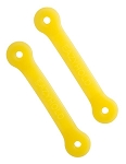 Eazyhold Universal Hand Grip Straps Yellow 2-Pack