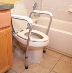 Essential Bath Safety Toilet Rails