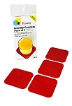 Tenura Small Coasters - 4 pack