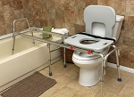 Eagle Health Long Toilet to Tub Sliding Transfer Bench