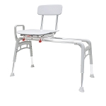 Eagle Health Swivel Sliding Ergo Transfer Bench