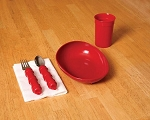 Redware Dishes for Alzheimer's