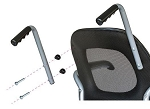 Revo Slim Line Daily Living Chair Push Handles