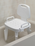 Bath Safe Bath and Shower Seat with Back and Arms