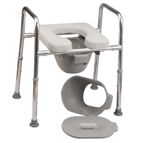 Using bedside commodes after stroke | Stroke Aids