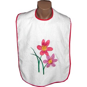 Designer Embroidery Bibs for Women - Discontinued