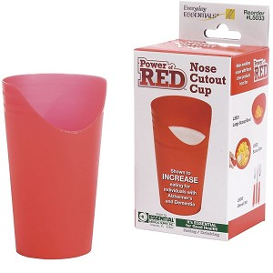 Power of Red Nose Cutout Cup