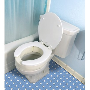 Essential Bath Hinged Toilet Seat Risers