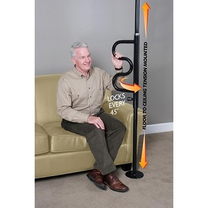 Standers Security Pole and Grab Bar