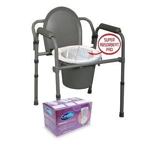 Cleanis Carebag Commode Liners