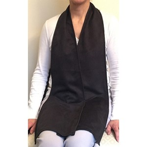 Black Cravaat Long Dining Scarf - Discontinued