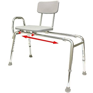 Eagle Health Sliding Transfer Bench Long