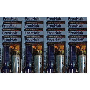 FresHair No Rinse Shampoo Comb Case of 36