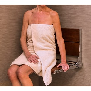 Serena Seat 18 inch Folding Shower Seat