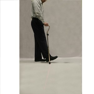 In Step LaserCane for Parkinson's
