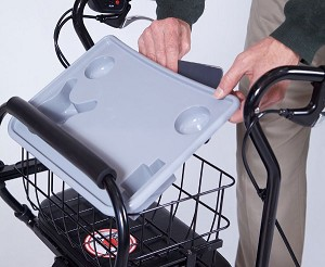 Tray and Basket Accessory for U-Step 2 Walker