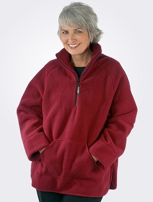 Janska Fleece Easy Wear Jacket Red
