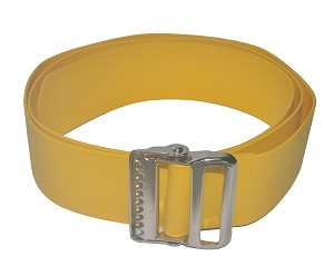 Soft Easi-Care Gait Belt Yellow