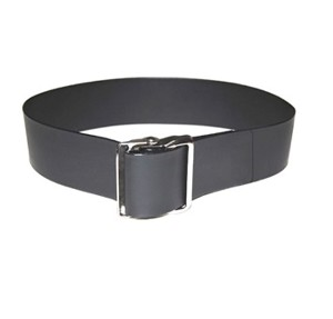 Soft Easi Care Gait Belt Black