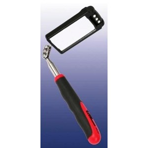 Square Telescopic Inspection Mirror with LED Lights