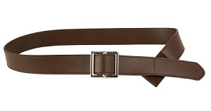 Myself Belts One Handed Brown All Leather Belts