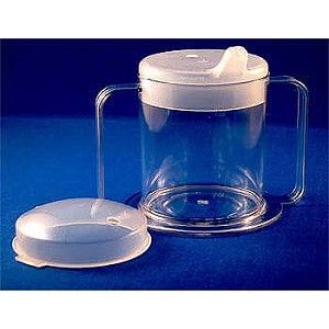 Independence Two Handle Clear Mug