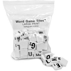 Large Print Word Game Tiles