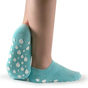 Silipos Gel Moisturizing Terry Cloth Socks