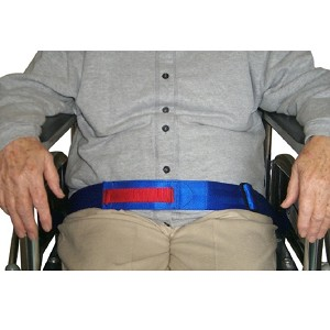Safe-T-Mate Wheelchair Safety Belt with Alarm