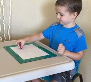 Stay Put Non-Slip Writing Mat