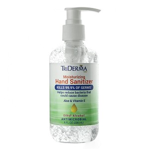 TriDerma MD Moisturizing Hand Sanitizing Gel
