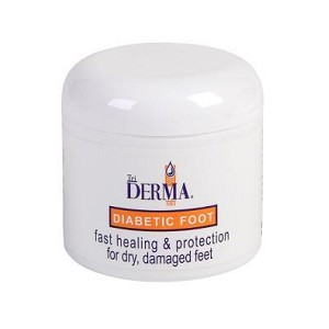 TriDerma MD Diabetic Foot Healing Cream 4oz jar