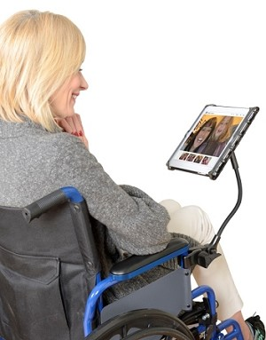 Tablet Holder with Flexible Arm by Delta - Discontinued