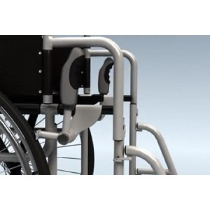Handsbuddy Wheelchair Brake Handles Provides Increased